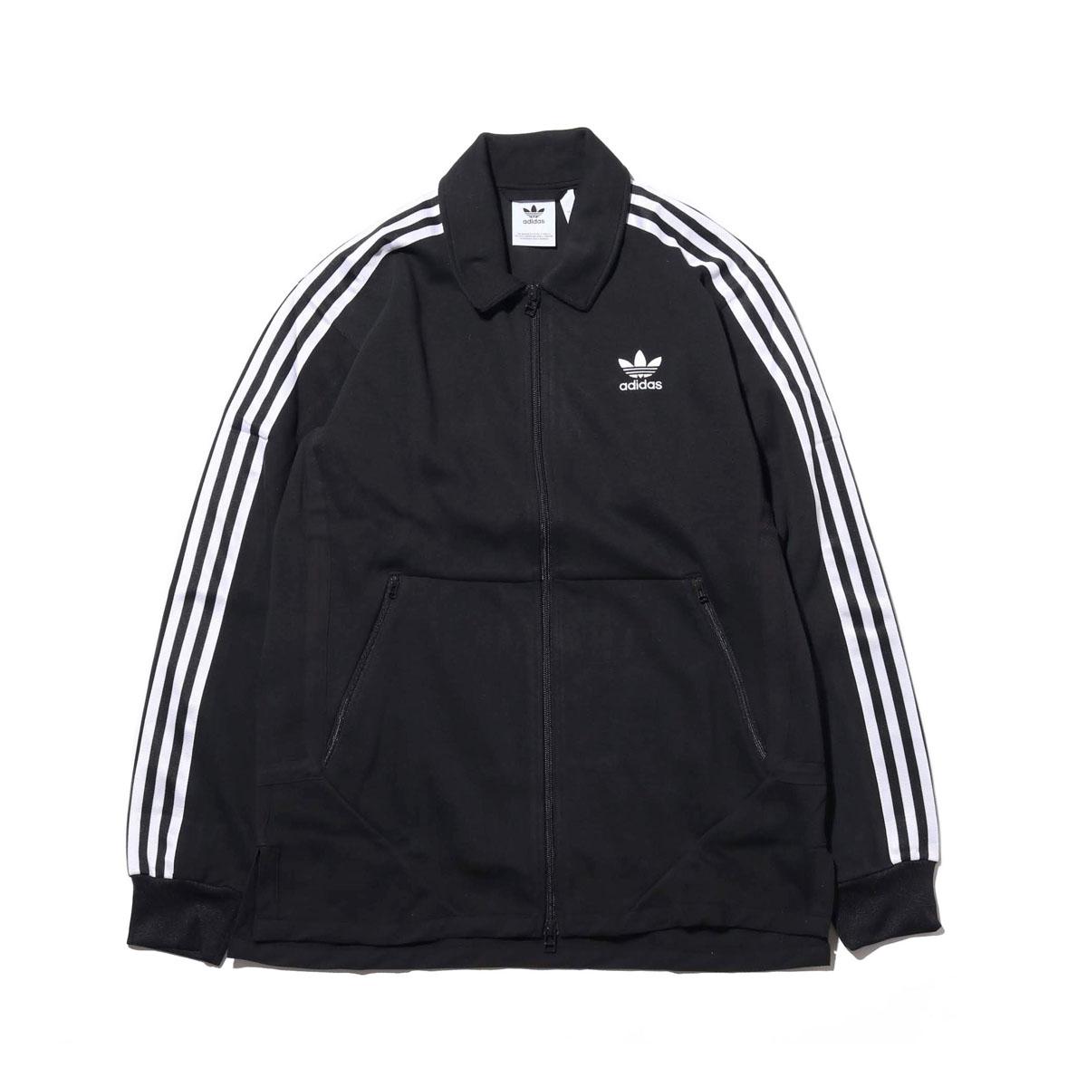 adidas Originals WINDSOR TRACK TOP(アディダス オリジナルス WINDSORトラックトップ)BLACK【メンズ ジャケット】18FW-I