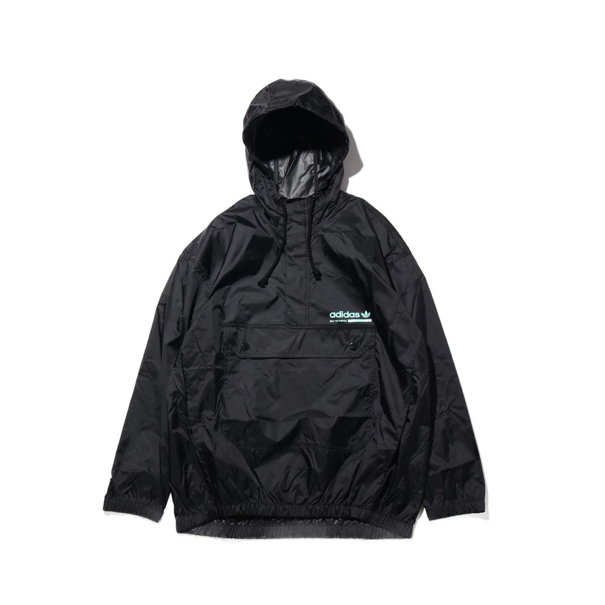 adidas Originals KAVAL GRP WINDBREAKER(アディダス オリジナルス カバルGRPウインドブレーカー)BLACK【メンズ ジャケット】18FW-I