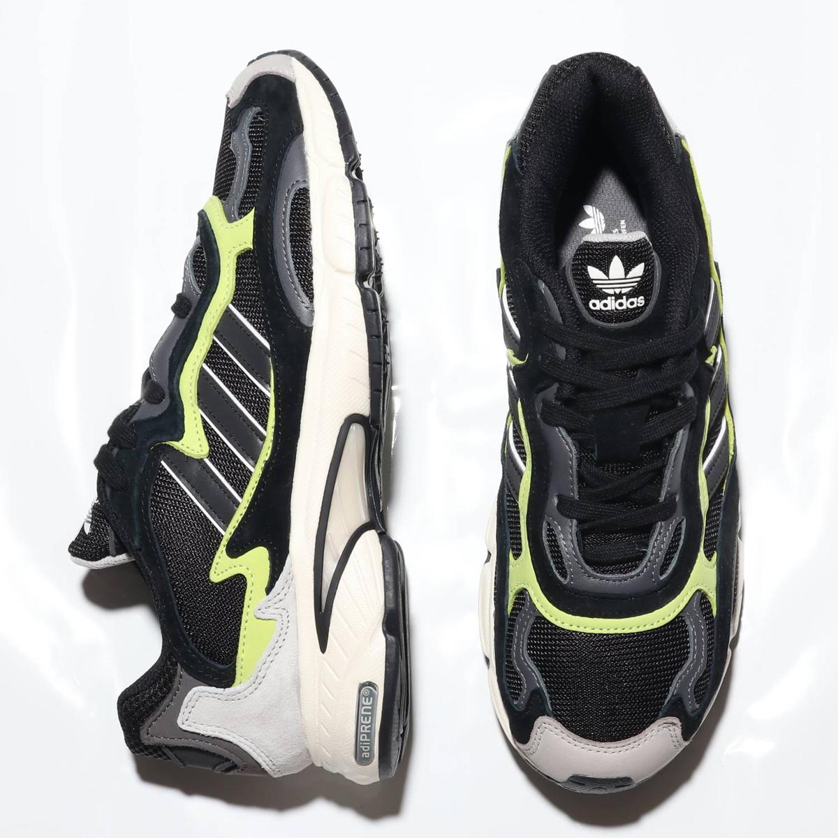adidas Originals TEMPER RUN(アディダス オリジナルス テンパー ラン) CORE BLACK/CORE BLACK/GLOW【メンズ レディース スニーカー】18FW-S
