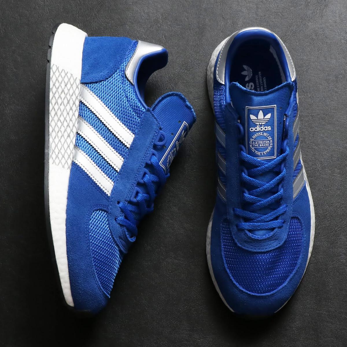 adidas Originals MARATHON x 5923 (アディダス オリジナルス マラソン × 5923)BLUE/SILVER MET/COLLEGE ROYAL【メンズ スニーカー】18FW-I