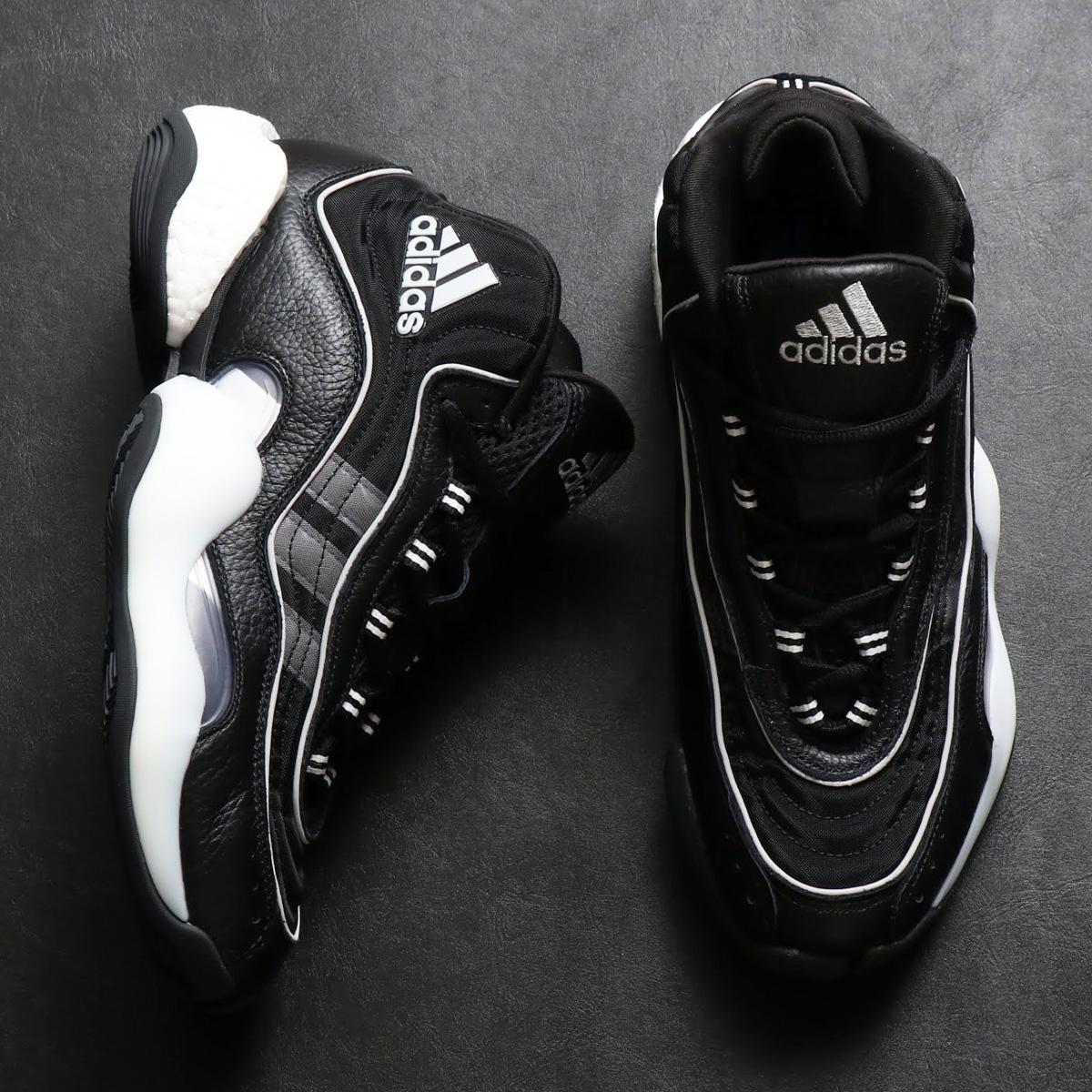adidas 98 x CRAZY BYW (アディダス 98 × クレイジー BYW)CORE BLACK/GREY/CORE WHITE【メンズ スニーカー】18FW-I