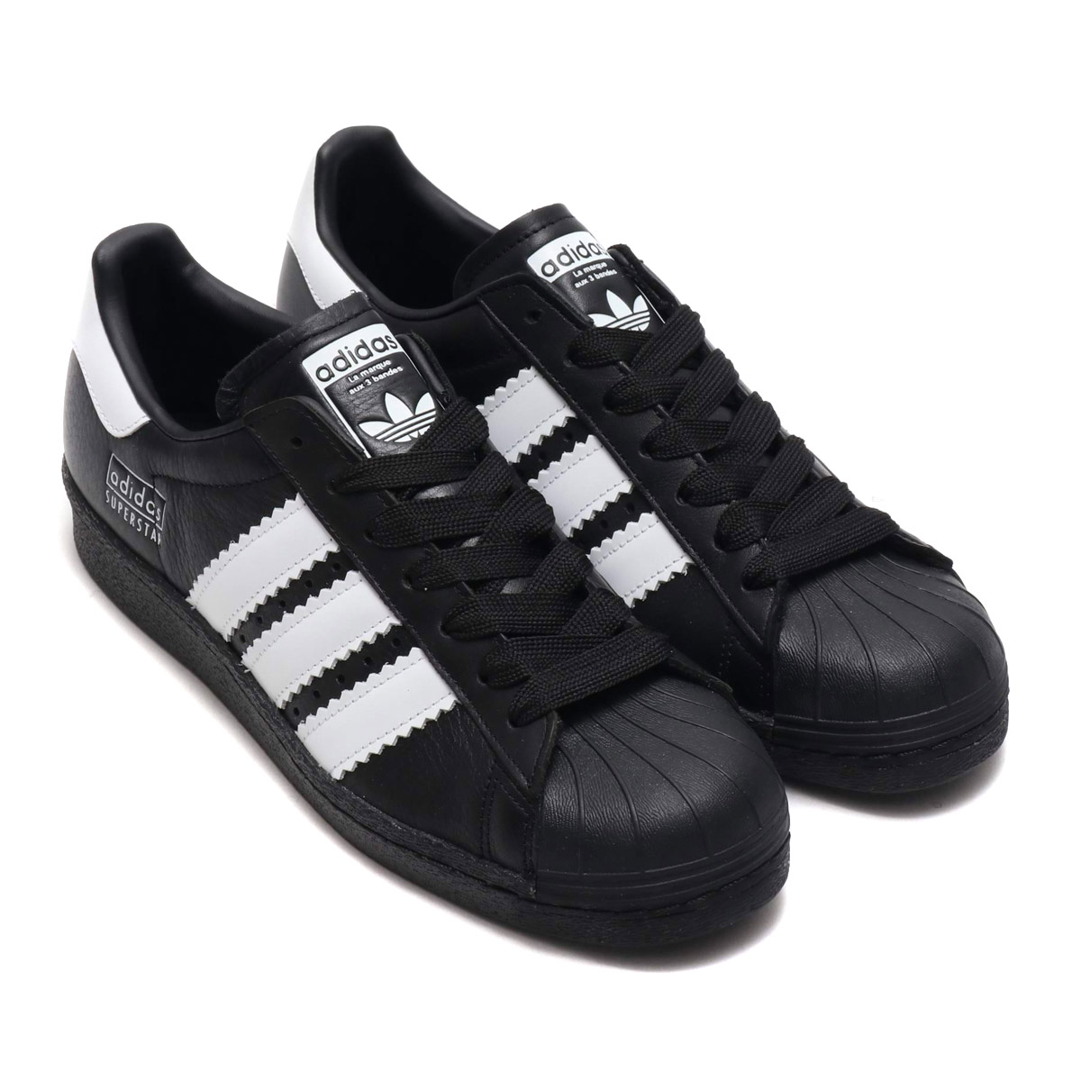adidas Originals SUPERSTAR 80s (アディダスオリジナルス スーパースター 80s)CORE BLACK/RUNNING WHITE/CORE BLACK【メンズ レディース スニーカー】19SS-I
