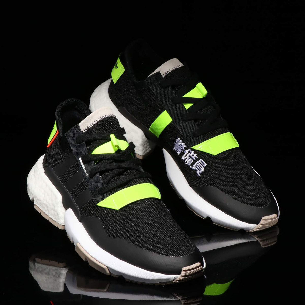 adidas Originals POD-S3.1(アディダスオリジナルス POD-S3.1)CORE BLACK/SOLAR YELLOW/RUNNING WHITE 【メンズ レディース スニーカー】18FW-S