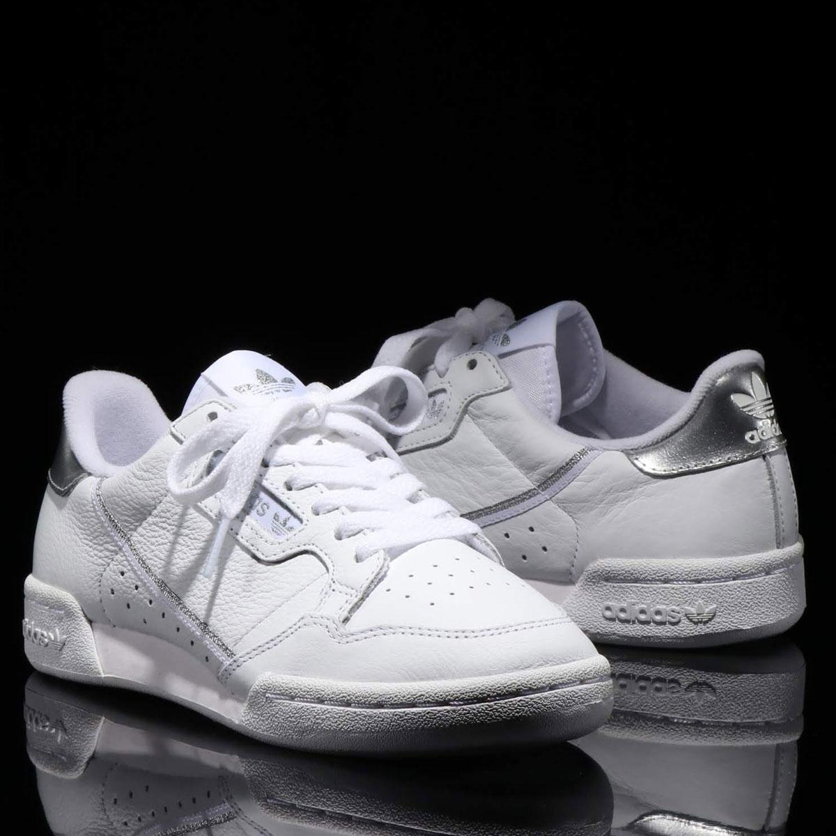 adidas Originals CONTINENTAL 80(アディダスオリジナルス コンチネンタル 80)RUNNING WHITE/RUNNING WHITE/SILVER MET【メンズ レディース スニーカー】19SS-I