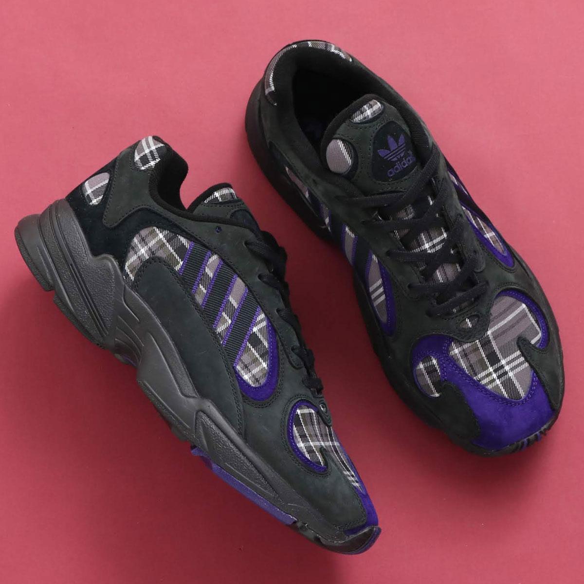 adidas Originals YUNG-1(アディダスオリジナルス ヤング-1)CORE BLACK/COLLEGE PURPLE/CORE BLACK【メンズ レディース スニーカー】19SS-I
