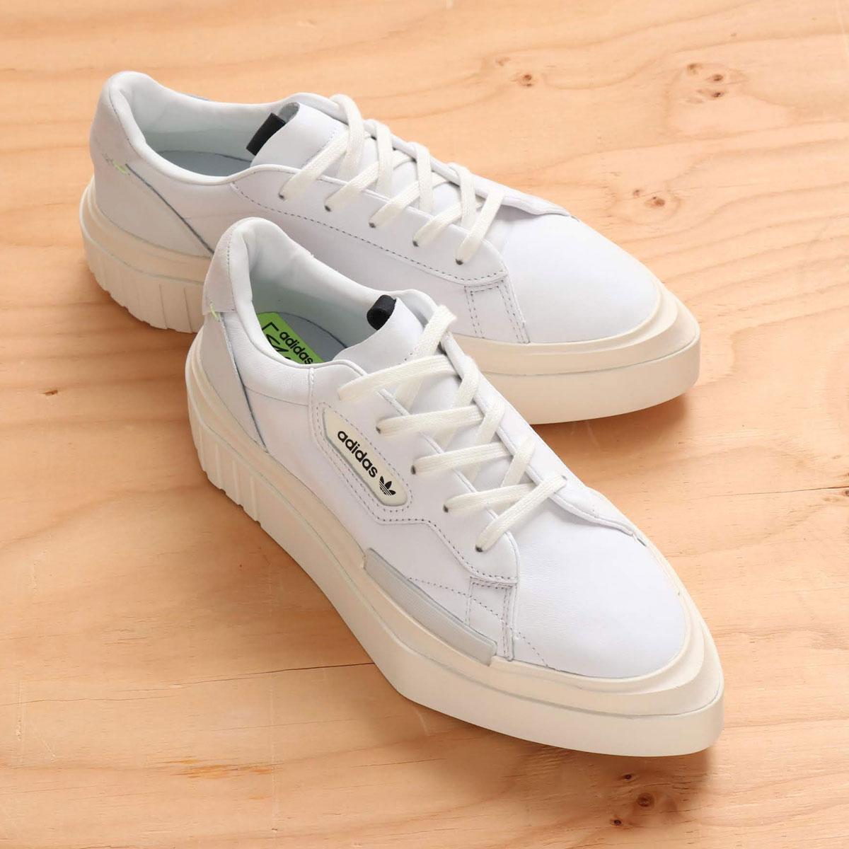 adidas Originals adidas HYPERSLEEK W(アディダスオリジナルス ハイパースリーク W)RUNNING WHITE/OFF WHITE/CRYSTAL WHITE【メンズ レディース スニーカー】19SS-I