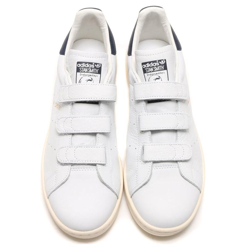 adidas Originals STAN SMITH CF (adidas originals Stan Smith comfort) RUNNING WHITE/COLLEGE NAVY/RUNNING WHITE 16SS-I