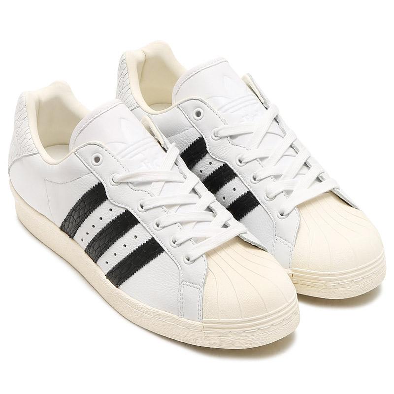 adidas Originals ULTRASTAR 80s (アディダス ウルトラスター 80s)RUNNING WHITE/CORE BLACK/OFF WHITE【メンズ スニーカー】17SS-I