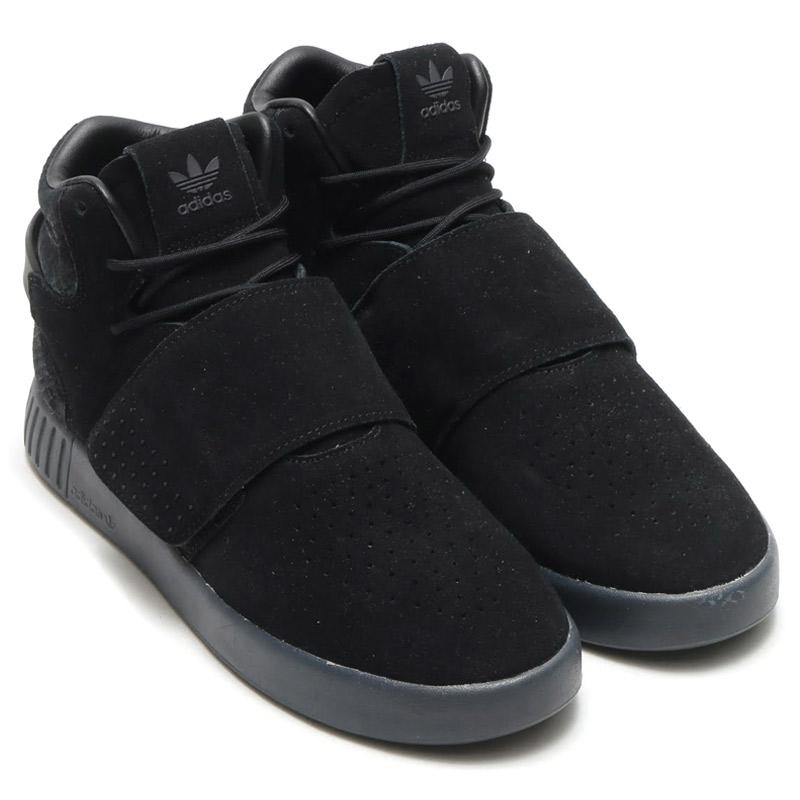 adidas Originals TUBULAR INVADER STRAP (アディダス チューブラー インベイダー ストラップ)CORE BLACK/CORE BLACK/UTILITY BLACK【メンズ スニーカー】17SS-I