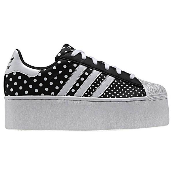 adidas originals superstar 2 platform up ef polka dots sneakers