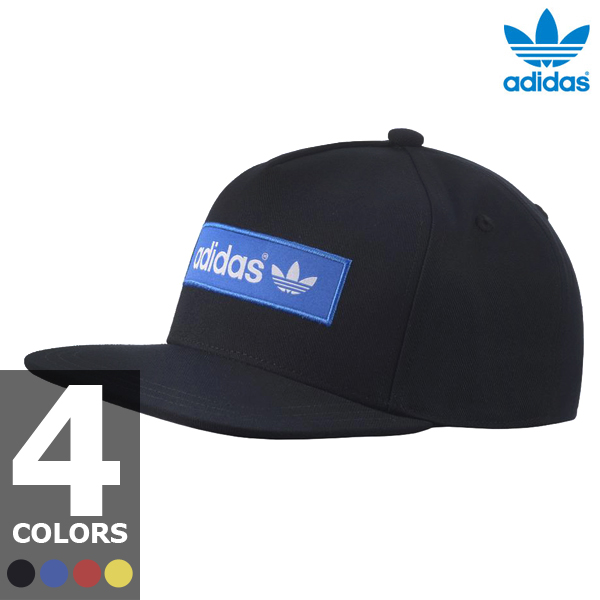 adidas Originals AC TREF FB CAP (adidas originals AC brim of trefoil flat CAP) 4-color