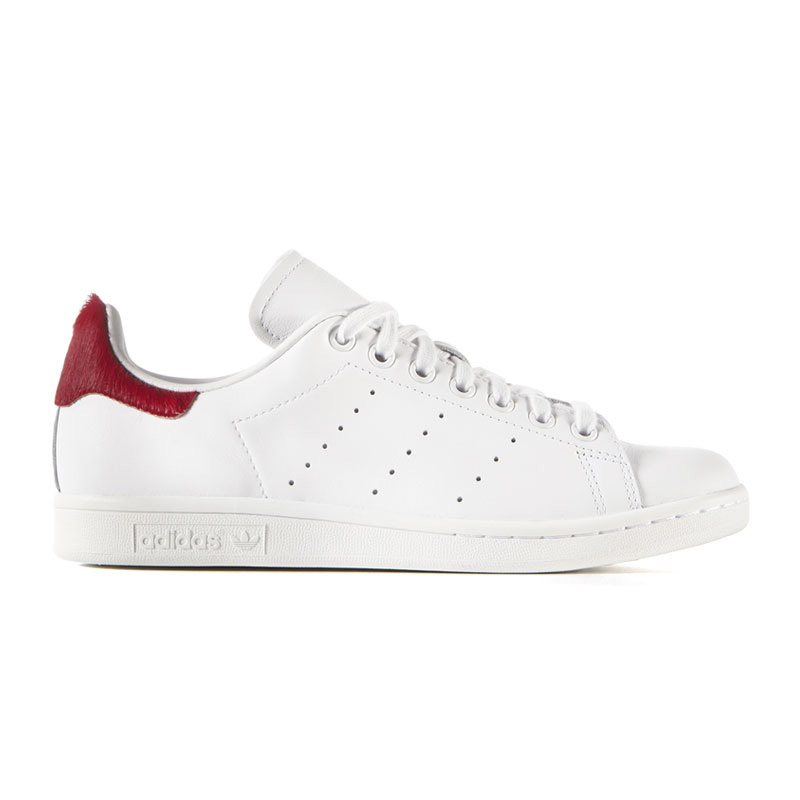 adidas stan smith bordeaux rood