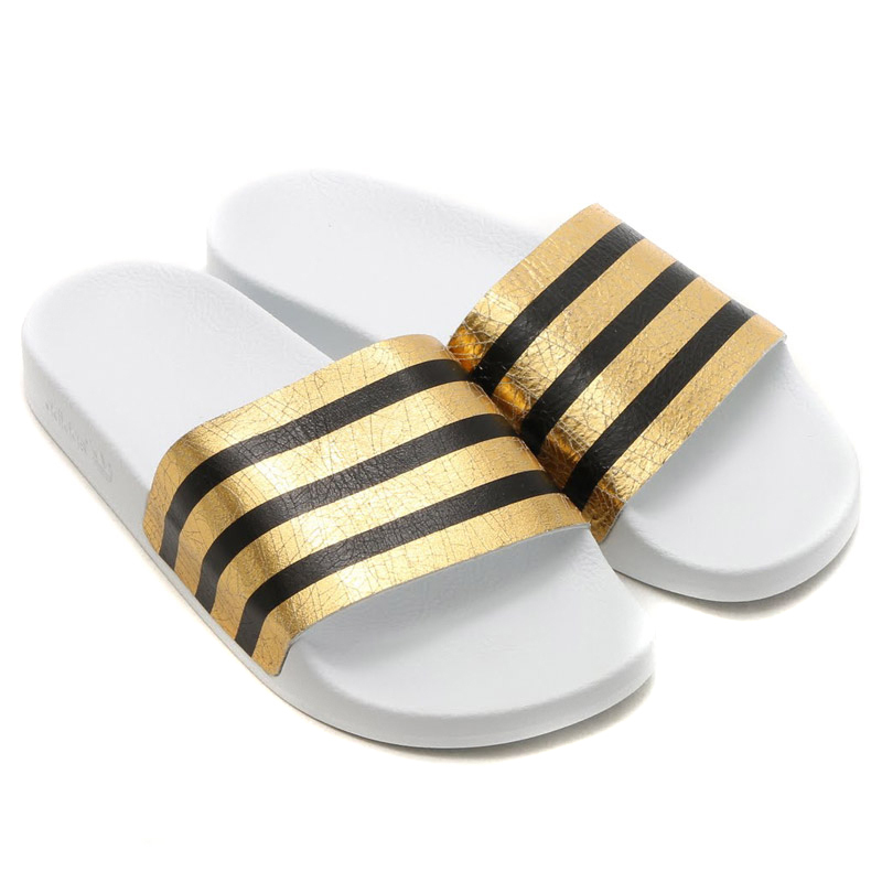 23e3fc969 Buy gold adidas sandals