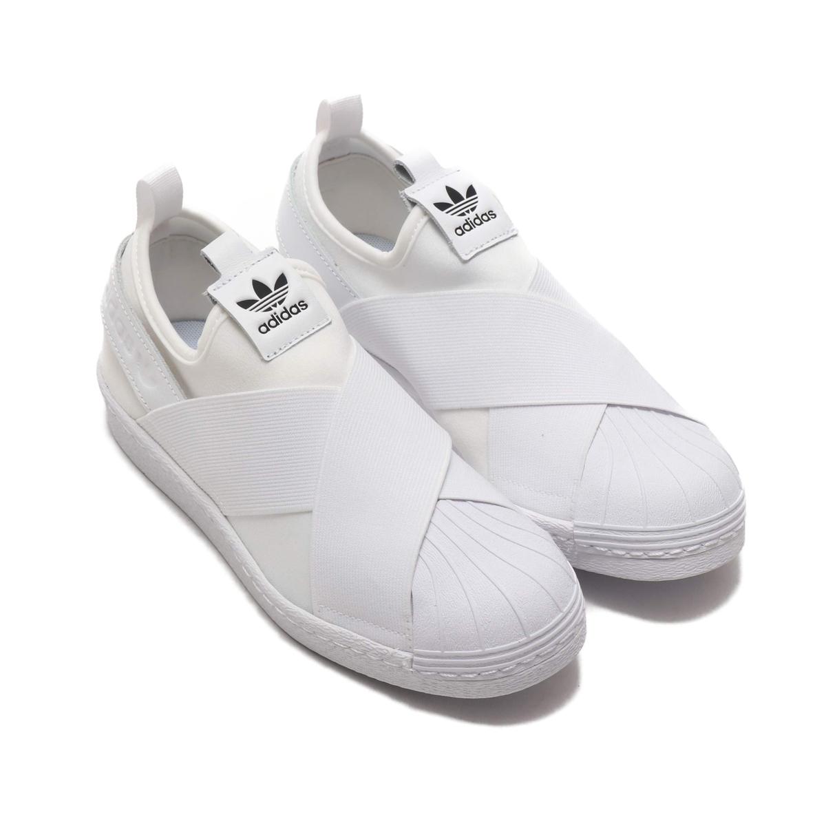 eb03c1b1b265 adidas Originals SUPER STAR SLIP ON W (Adidas originals superstar slip-on)  RUNNING WHITE RUNNING WHITE CORE BLACK CRYOVR