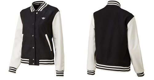 adidas Originals UNIV WOOL JACKET (아디다스오리지나르스유니바시티워르쟈켓트) BLACK/WHITE 13 FW-I