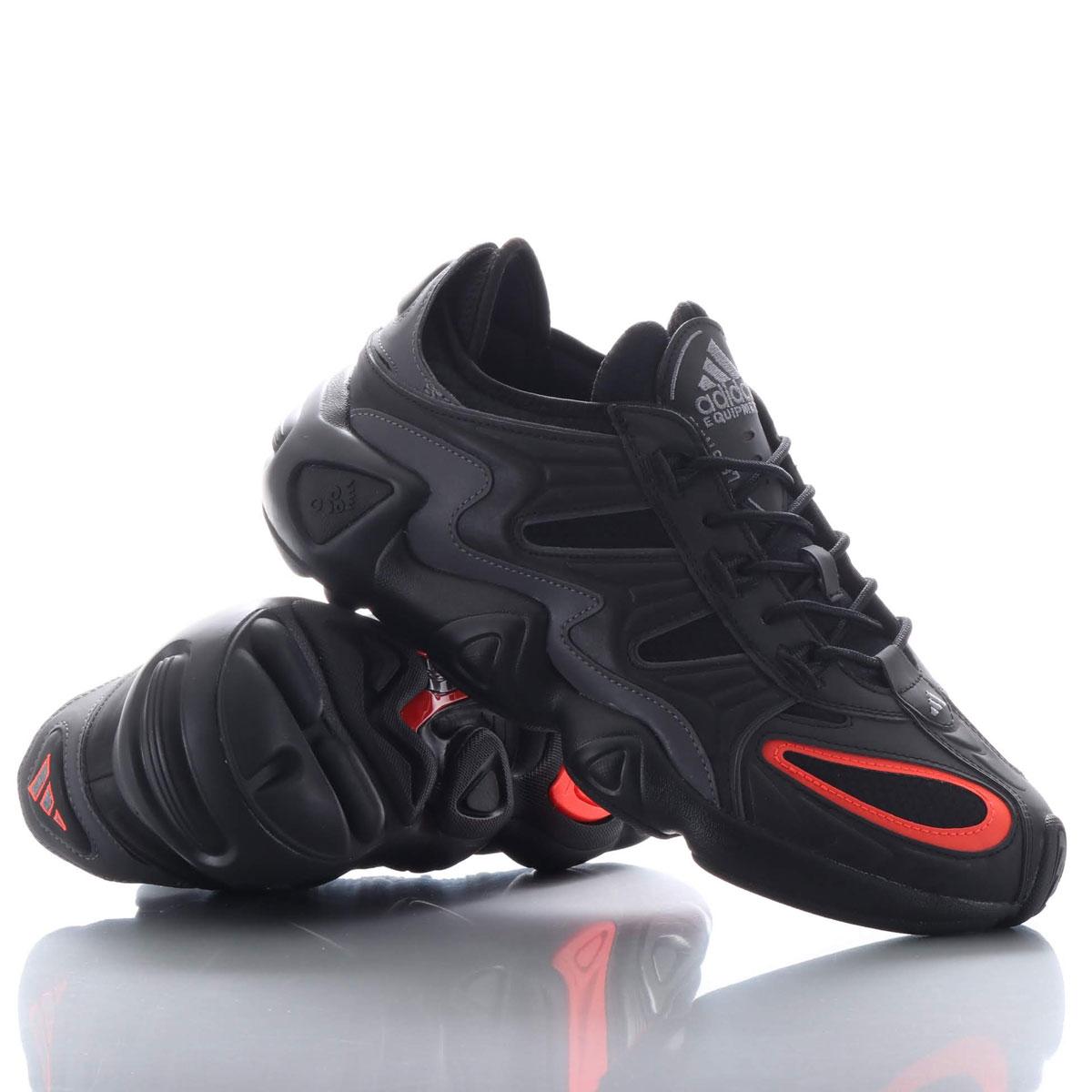 adidas Originals FYW S-97(アディダスオリジナルス フィーツーウェア S-97)CORE BLACK/CORE BLACK/SOLAR RED【メンズ レディース スニーカー】19FW-I
