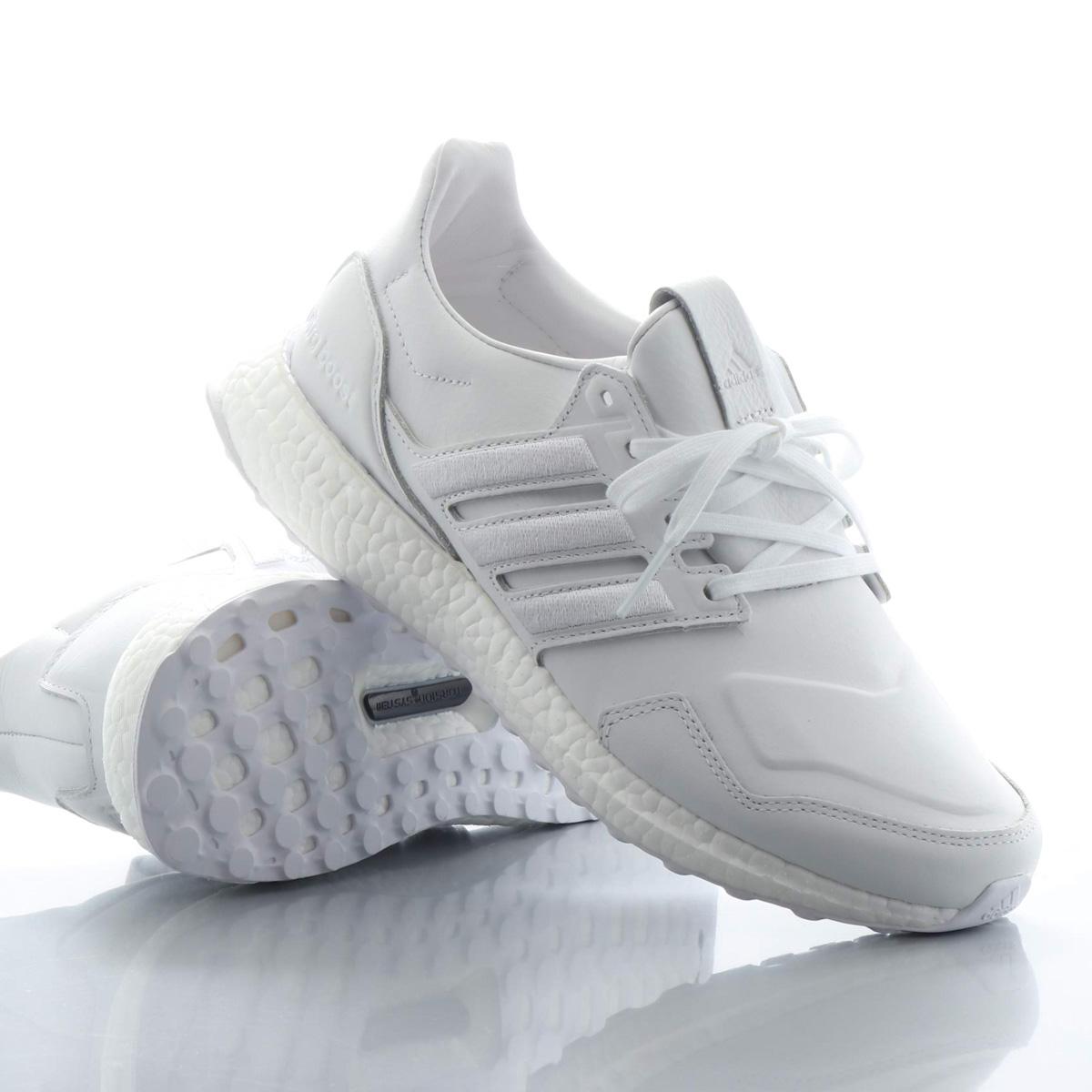adidas UltraBOOST leather(アディダス ウルトラブースト レザー)RUNNING WHITE/RUNNING WHITE/RUNNING WHITE【メンズ レディース スニーカー】19FW-I