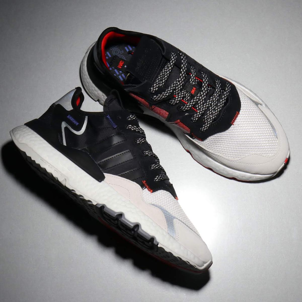 adidas Originals NITE JOGGER(アディダスオリジナルス ナイトジョガー)CORE BLACK/CORE BLACK/CRYSTAL WHITE【メンズ レディース スニーカー】19FW-S