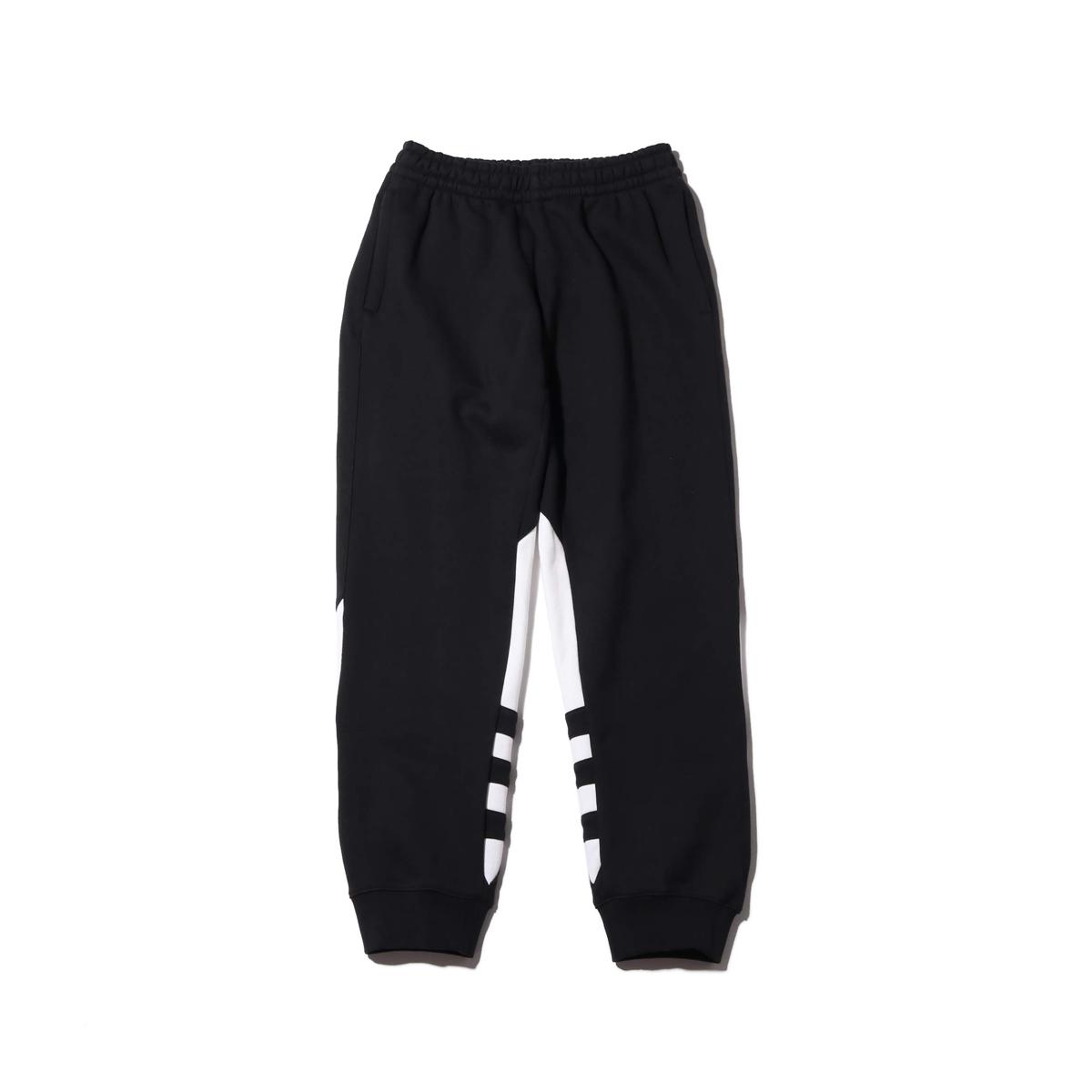 adidas BIGG TREFOIL PANT(アディダス ビッグ トレフォイル パンツ)BLACK【メンズ ロングパンツ】20SS-I