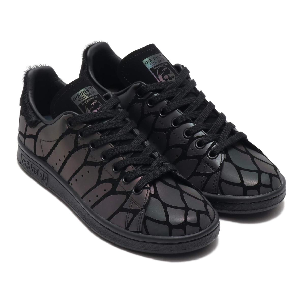 adidas STAN SMITH W(アディダス スタンスミス W)CORE BLACK/CORE BLACK/CORE BLACK【メンズ レディース スニーカー】19FW-S