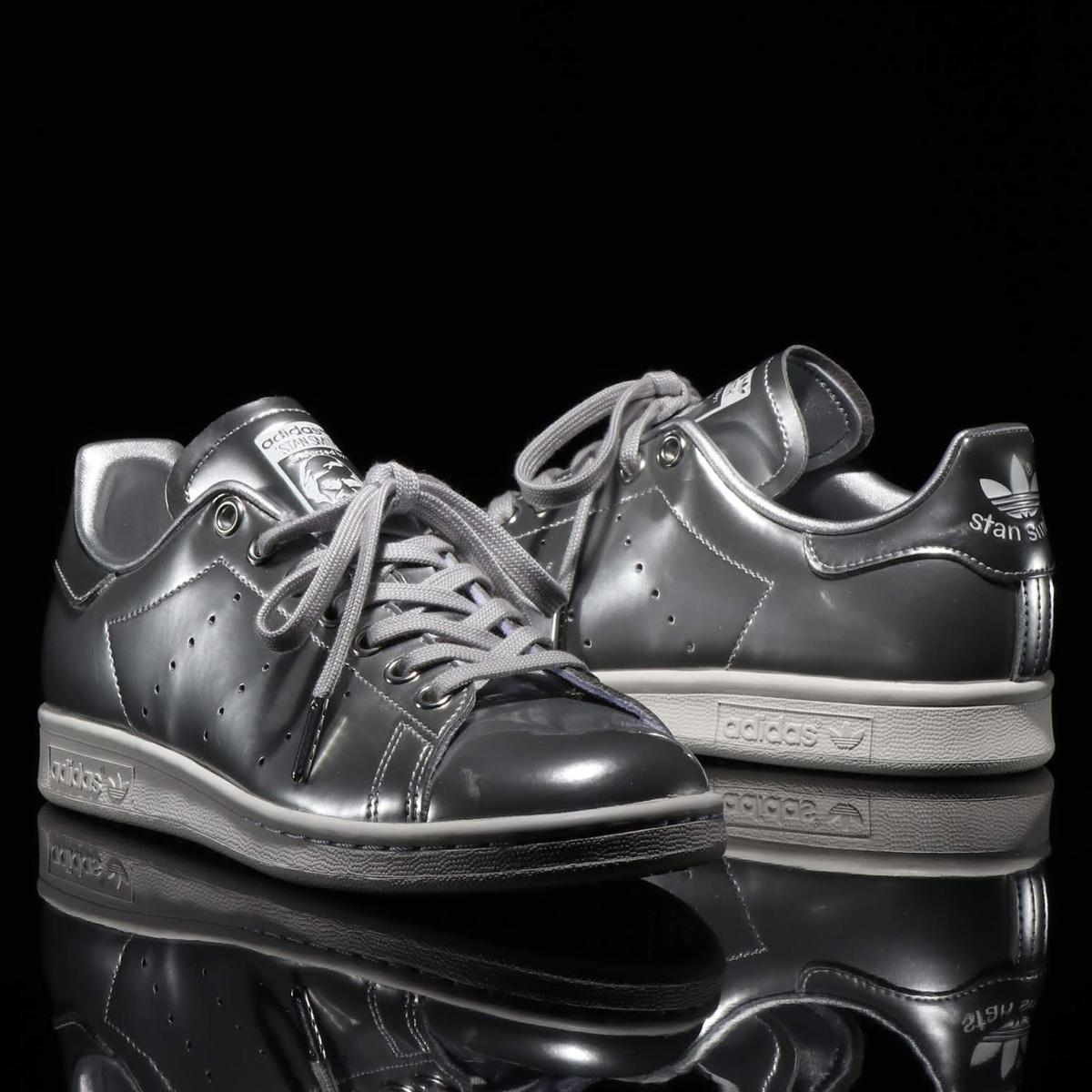 adidas STAN SMITH(アディダス スタンスミス)SILVER MET/SILVER MET/CRYSTAL WHITE【メンズ レディース スニーカー】19FW-I