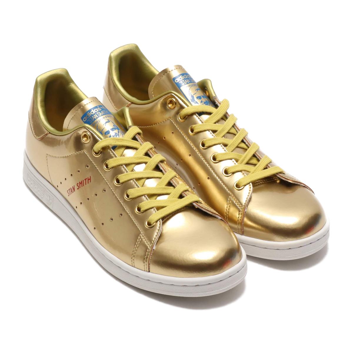 adidas STAN SMITH(アディダス スタンスミス)GOLD METRIC/GOLD METRIC/CRYSTAL WHITE【メンズ レディース スニーカー】20SS-I