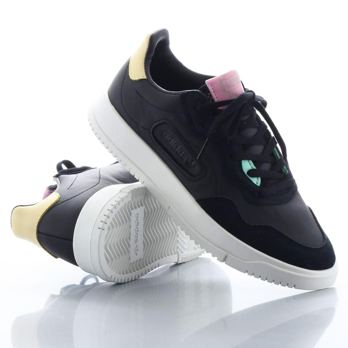 adidas SC PREMIERE(アディダス エスシー プレミア)CORE BLACK/CORE BLACK/EASY YELOW【メンズ レディース スニーカー】20SS-I