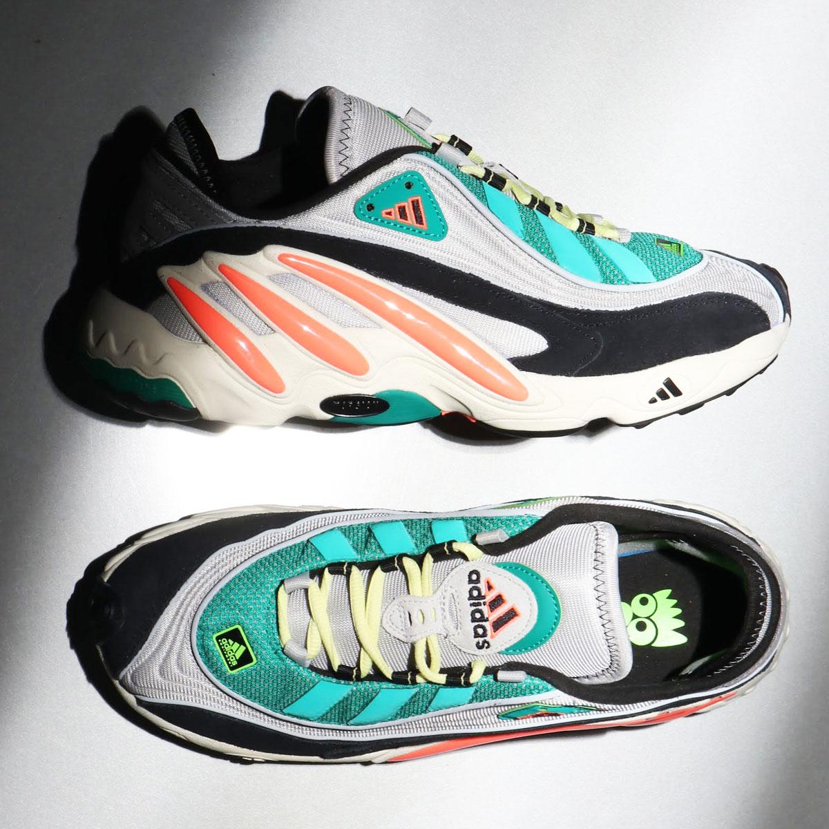 adidas FYW 98(アディダス エフワイダブル 98)GRAY TWO/SIGNAL CORAL/YELLOW TINT【メンズ レディース スニーカー】20SS-I