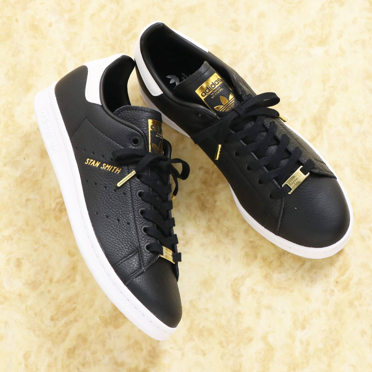 adidas STAN SMITH(アディダス スタンスミス)CORE BLACK/CORE BLACK/FOOTWEAR WHITE【メンズ レディース スニーカー】20SS-I