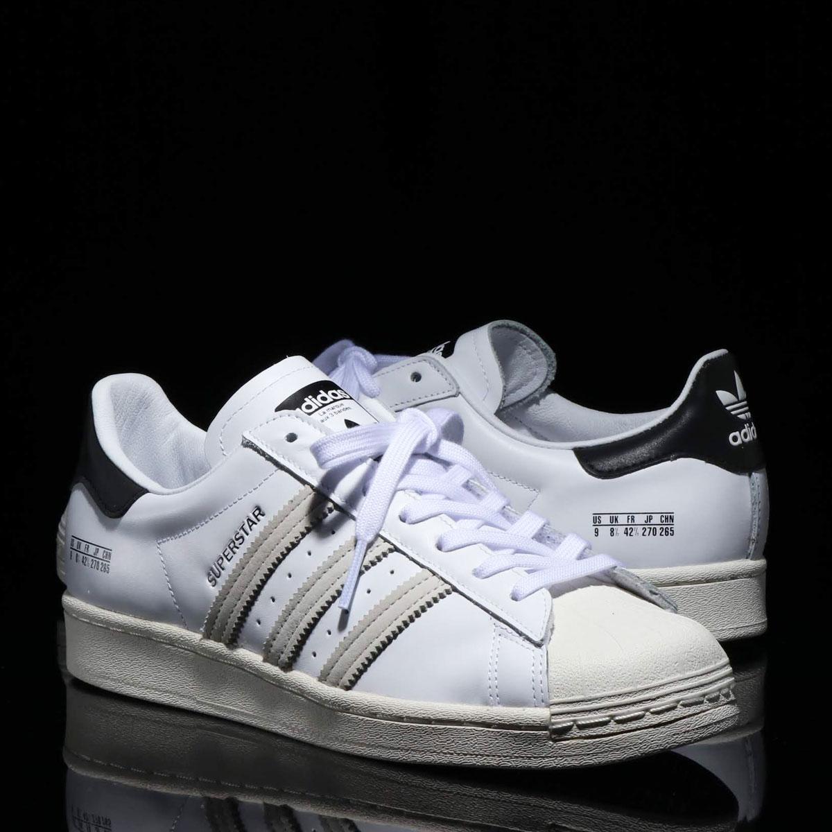 adidas SUPERSTAR(アディダス スーパースター)FOOTWEAR WHITE/FOOTWEAR WHITE/CORE BLACK【メンズ レディース スニーカー】20SS-I