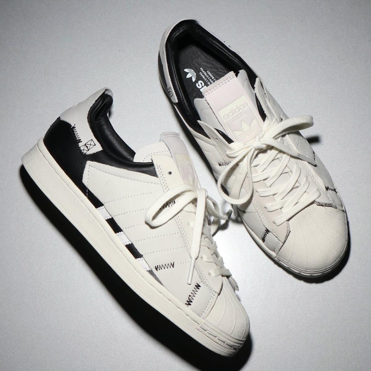 adidas SUPERSTAR(アディダス スーパースター)FOOTWEAR WHITE/CORE BLACK/OFF WHITE【メンズ レディース スニーカー】20SS-I