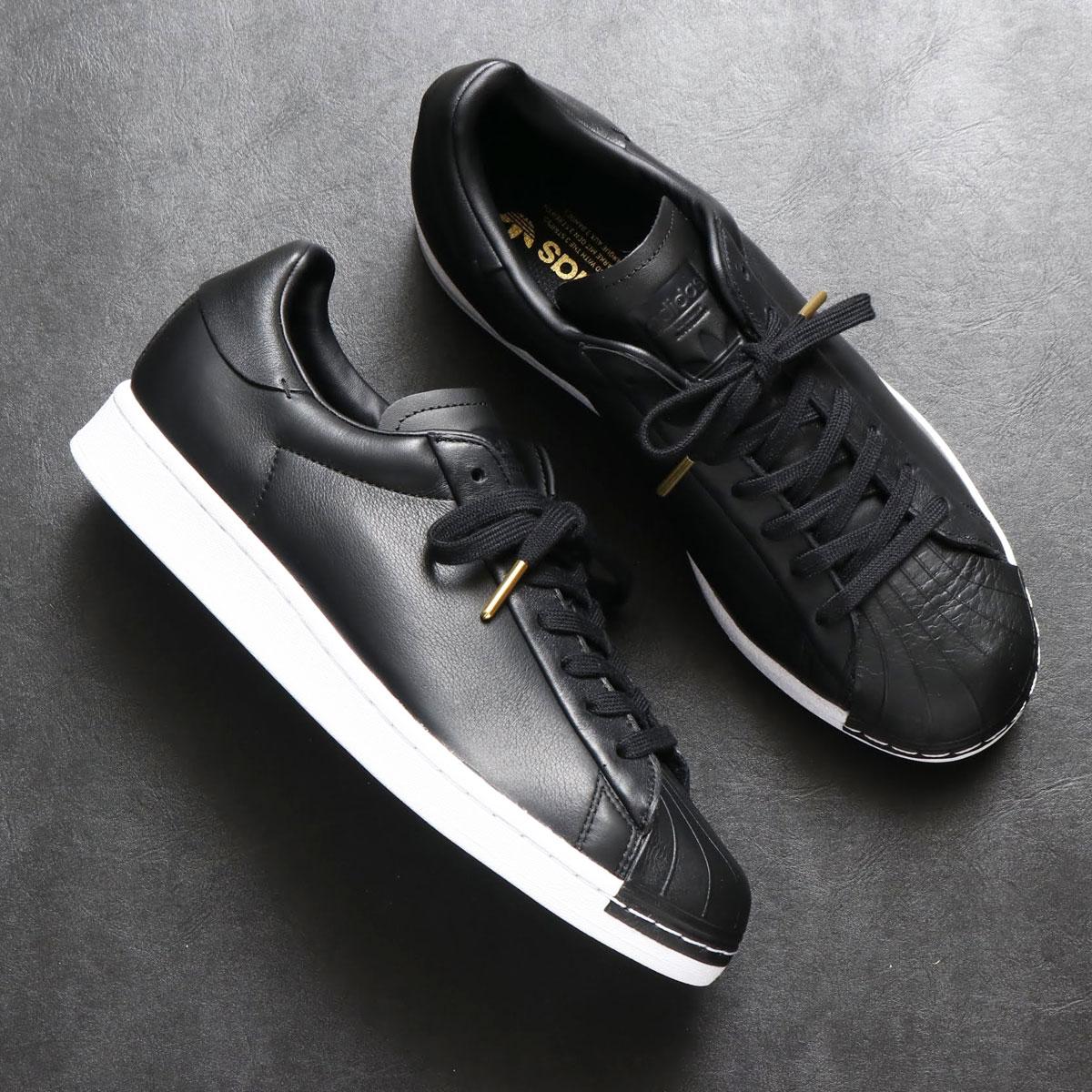 adidas SST PURE LT W(アディダス スーパースター ピュア LT W)CORE BLACK/FOOTWEAR WHITE/GOLD METARIC【レディース スニーカー】20SS-S