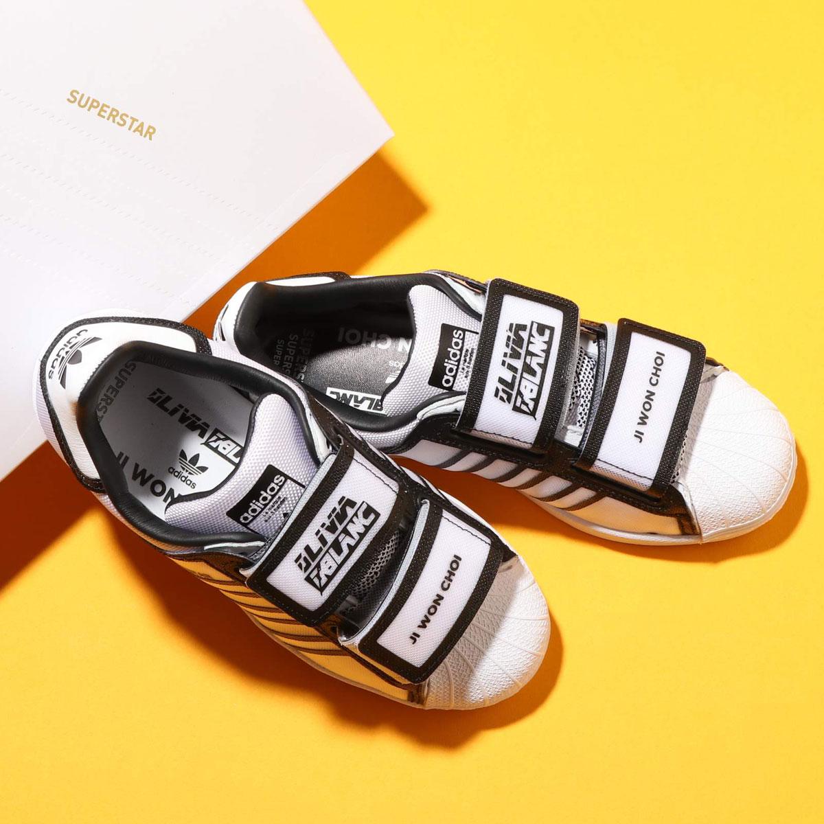 adidas SUPERSTAR W(アディダス スーパースター)FOOTWEAR WHITE/CORE BLACK/SCARLET【メンズ レディース スニーカー】20SS-S