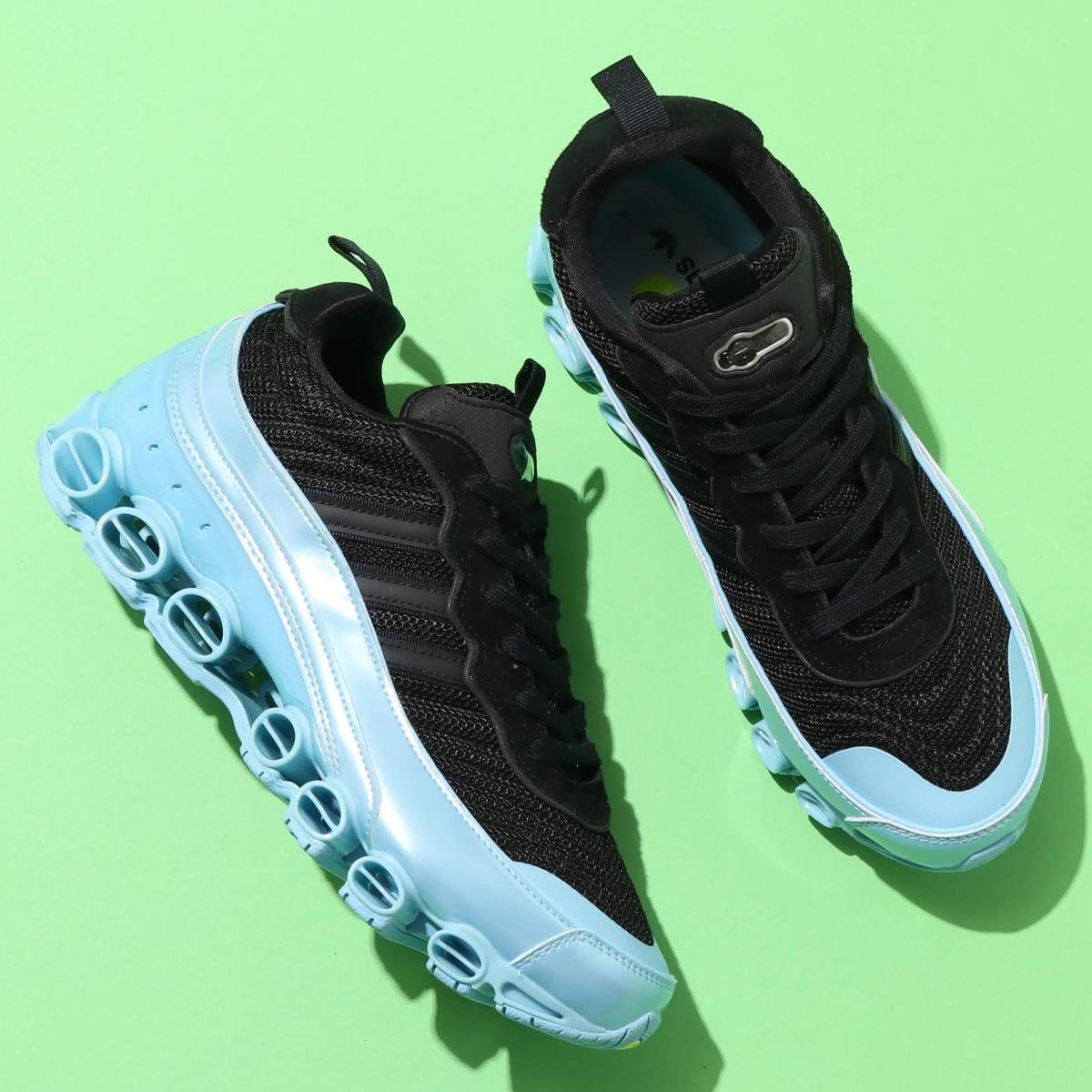 adidas MICROBOUNCE T1(アディダスマイクロバウンス T1)CORE BLACK/CORE BLACK/CLEAR BLUE【メンズ スニーカー】20SS-S