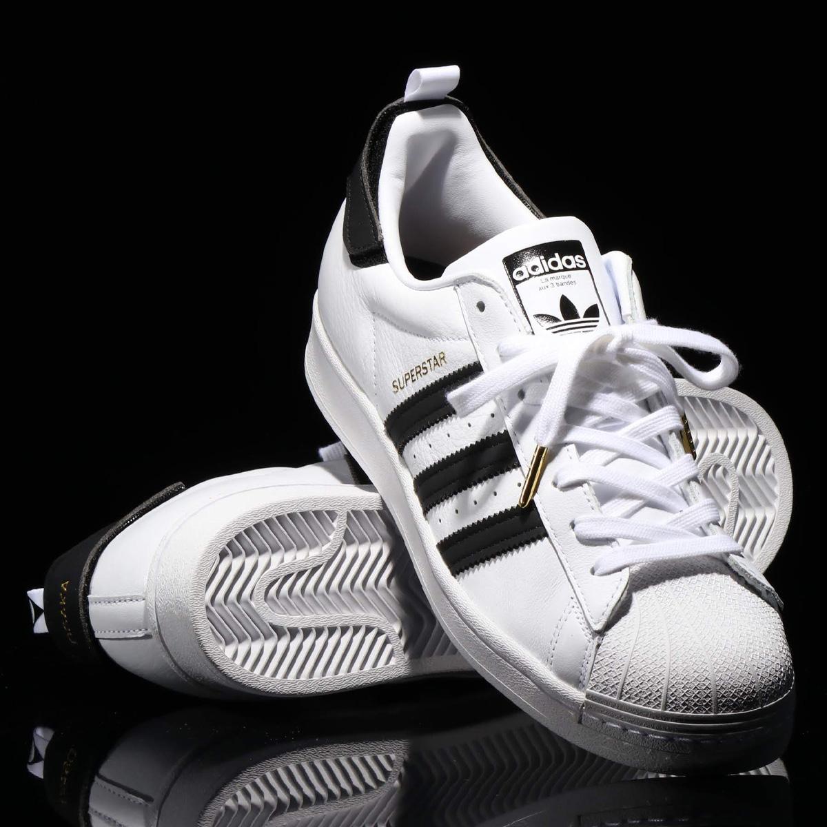 adidas SUPERSTAR(アディダス スーパースター)FOOTWEAR WHITE/CORE BLACK/GOLD METARIC【メンズ レディース スニーカー】20SS-I