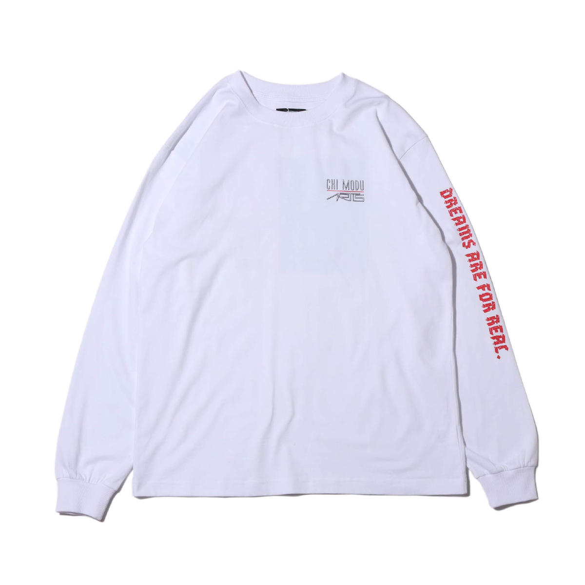 artis CHI BISHOP LS T-SHIRT(アーティズ チ ビショップ LS ティーシャツ)WHITE【メンズ 長袖Tシャツ】20SP-I