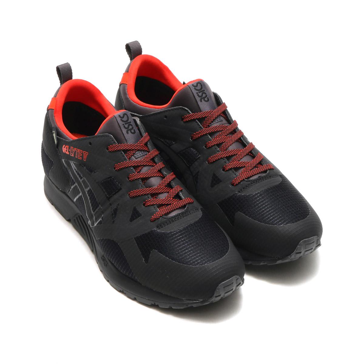 sports shoes 2ac1f 0f5ad asics Tiger GEL-LYTE V NS GT-X (アシックス タイガー ゲルライト ファイブ エヌエス ジーティーエックス)  BLACK/BLACK【メンズ レディース スニーカー】17AW-I atmos-tokyo