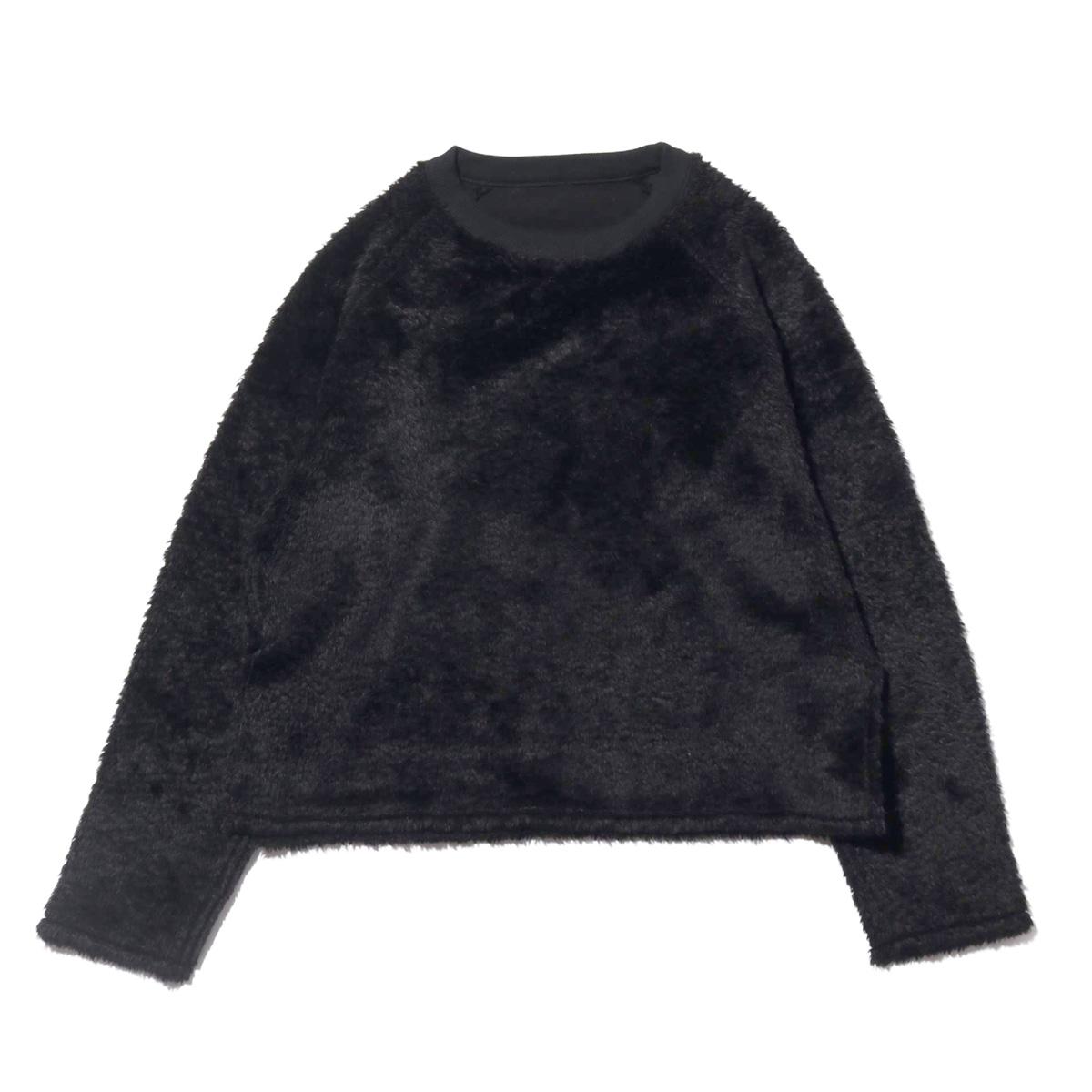 atmos pink リバーシブル トップス (アトモスピンク リバーシブル トップス)BLACK【レディース 長袖Tシャツ】18FA-I