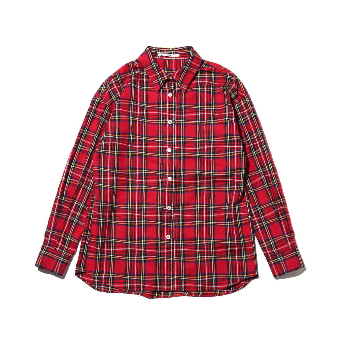 atmos pink プリント セットアップ シャツ(アトモスピンク プリント セットアップ シャツ)RED【レディース シャツ】18FW-I