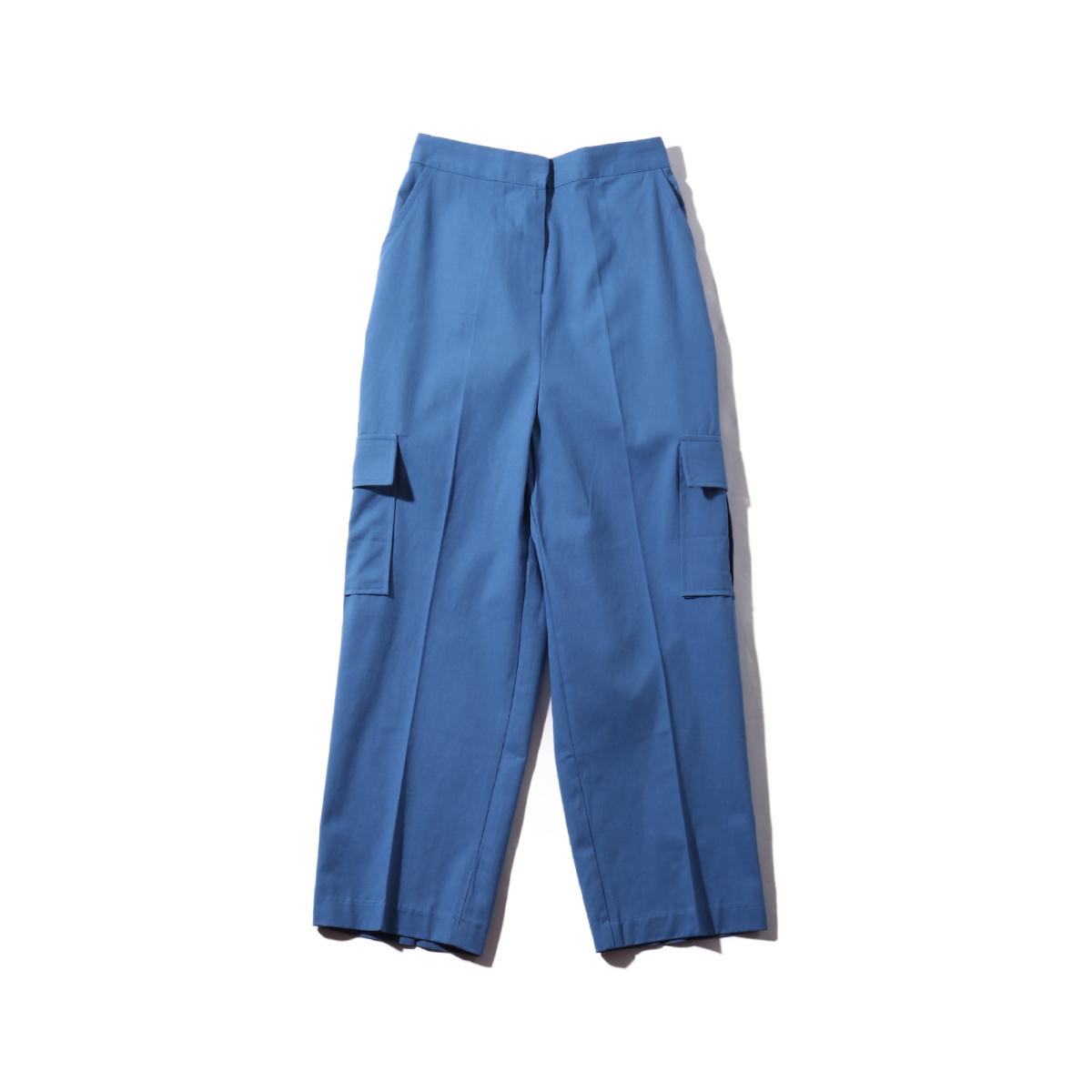 atmos pink ビックポケットカラーカーゴパンツ TX(アトモスピンク ビックポケットカラーカーゴパンツ TX)BLUE【レディース ロングパンツ】19FA-I