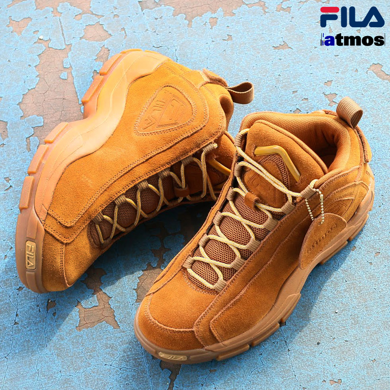 FILA×atmos FILA 96(フィラ×アトモス フィラ 96)WHEAT/GUM15FW-S