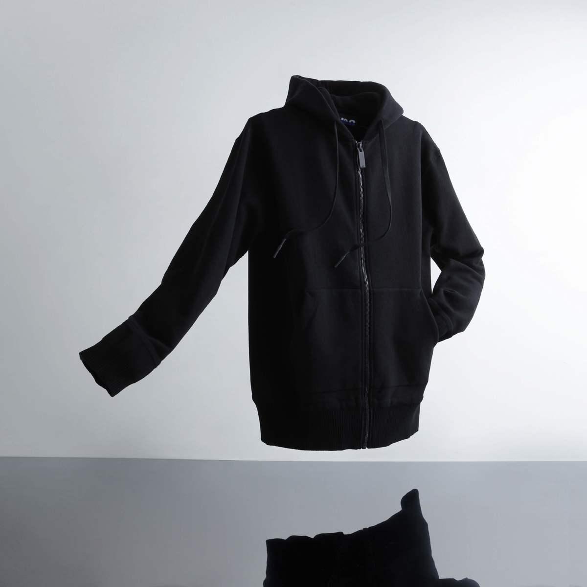 A-GIRLS ATMOS Pinnacle Zip Up Hoodie (エイガールズ アトモス ピナクル ジップアップ フーディー) BLACK【メンズ パーカー】19SS-S