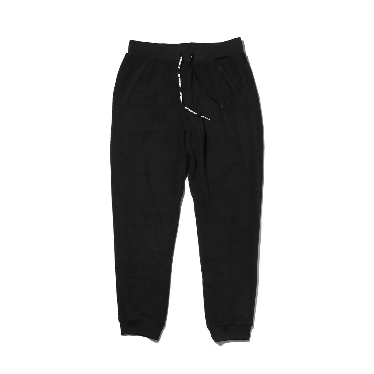 ATMOS LAB FLEECE PANTS (アトモスラボ フリース パンツ) BLACK【メンズ パンツ】18FW-I