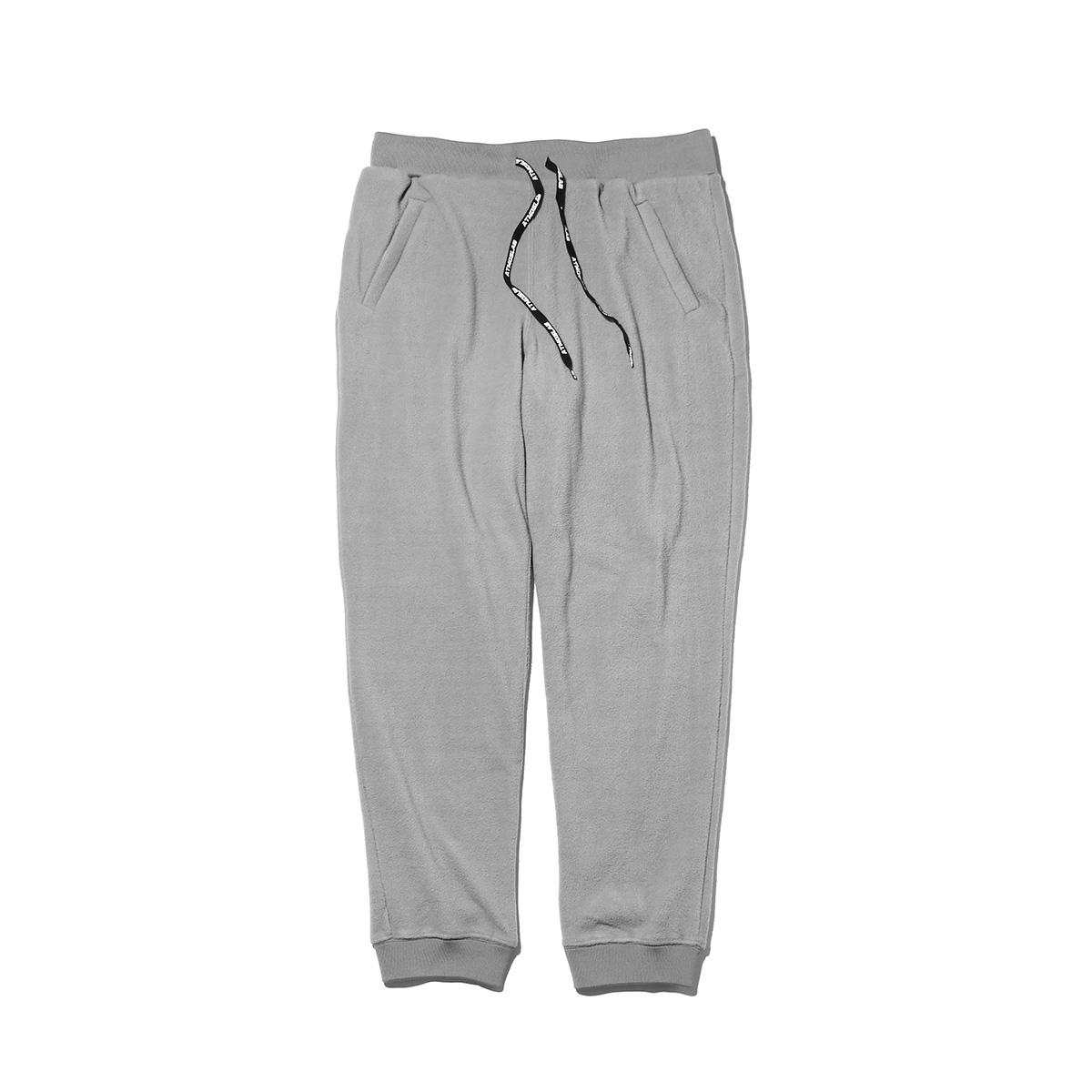ATMOS LAB FLEECE PANTS (アトモスラボ フリース パンツ) GRAY【メンズ パンツ】18FW-I