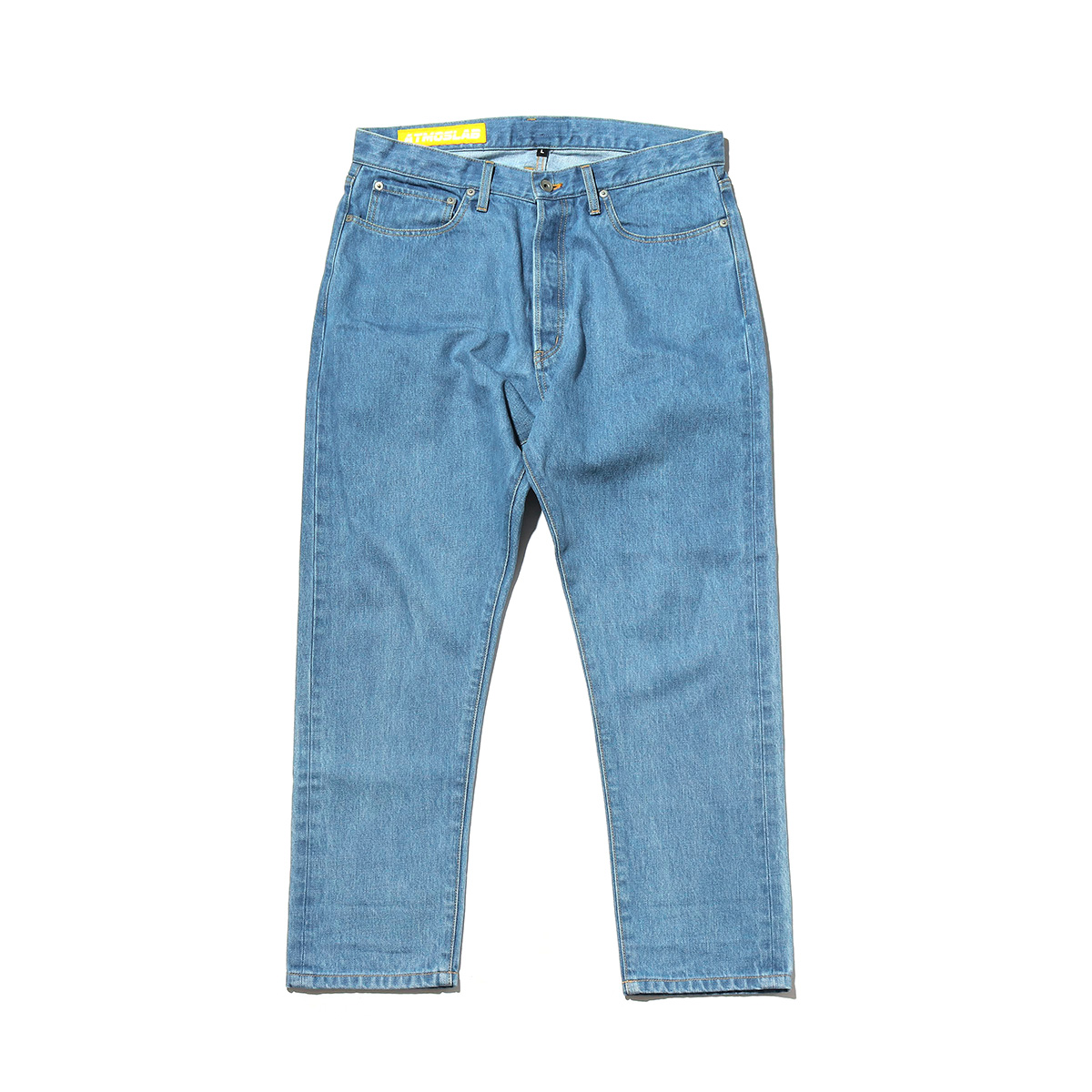ATMOS LAB LASER LOGO DENIM PANTS (アトモスラボ レーザー ロゴ デニム パンツ) INDIGO【メンズ ジーンズ】18FW-I