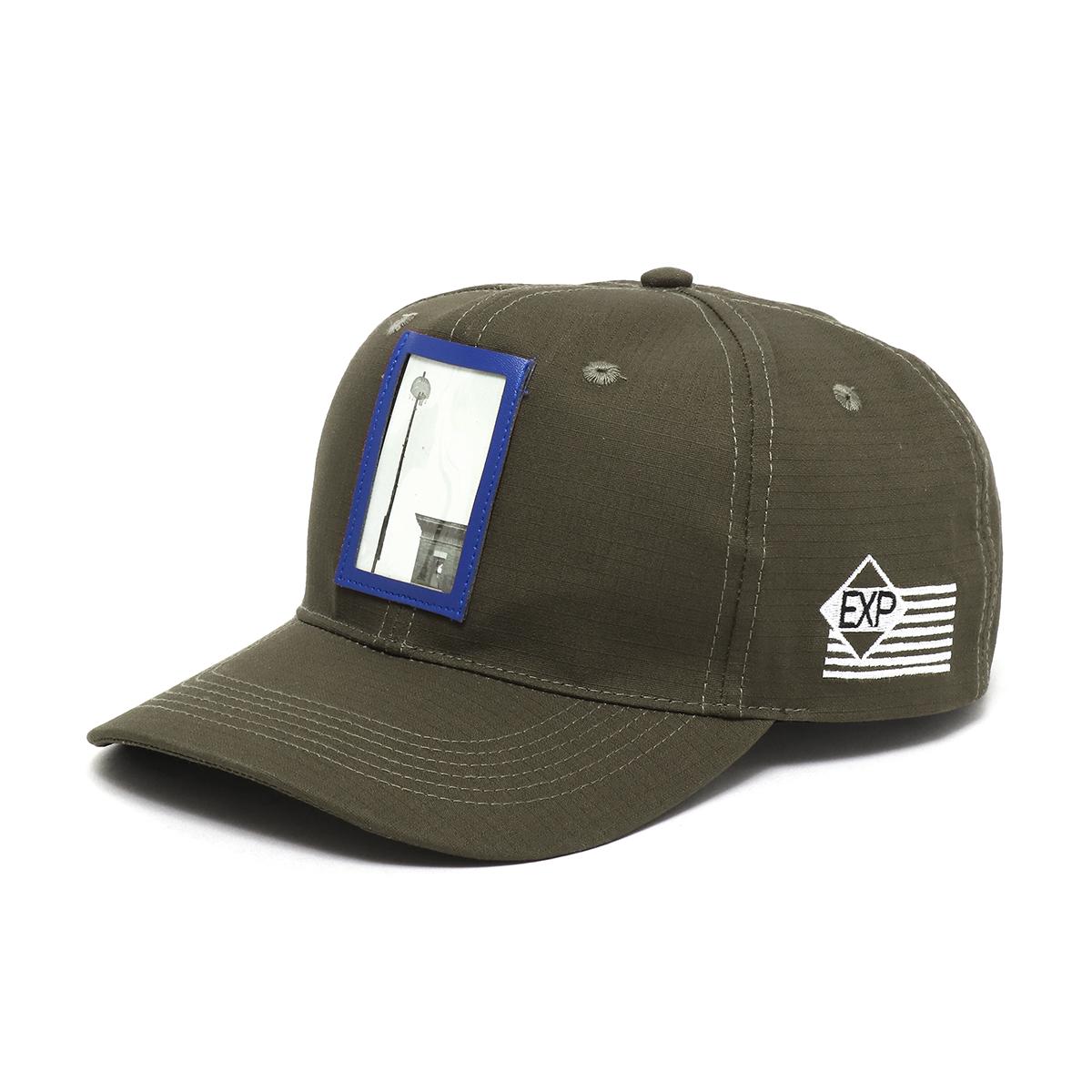 EXPANSION x ATMOS LAB 6PANEL CAP (アトモスラボ エクスパンション アトモスラボ シックスパネル キャップ) OLIVE GREEN【帽子】18SS-S