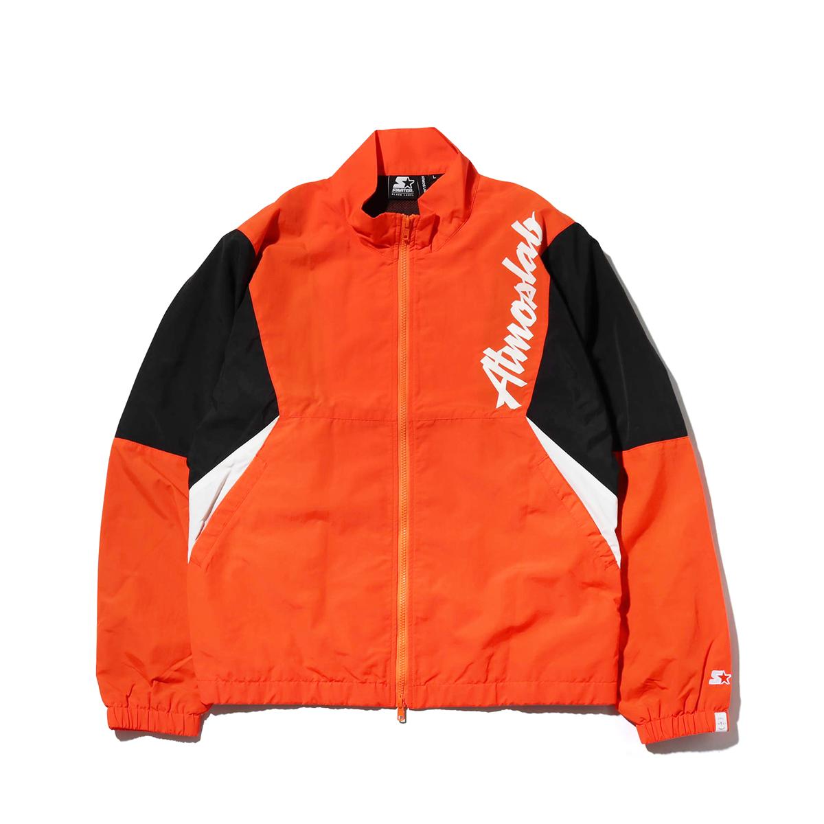 STARTER BLACK LABEL x ATMOS LAB TRACK JACKET(スターター ブラックレーベル アトモスラボ トラック ジャケット)orange【メンズ ジャケット】18FW-S