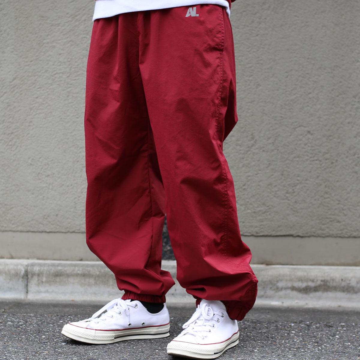 ATMOS LAB NYLON TRACK PANTS(アトモス ラボ ナイロン トラック パンツ)burg【メンズ パンツ】17FW-I
