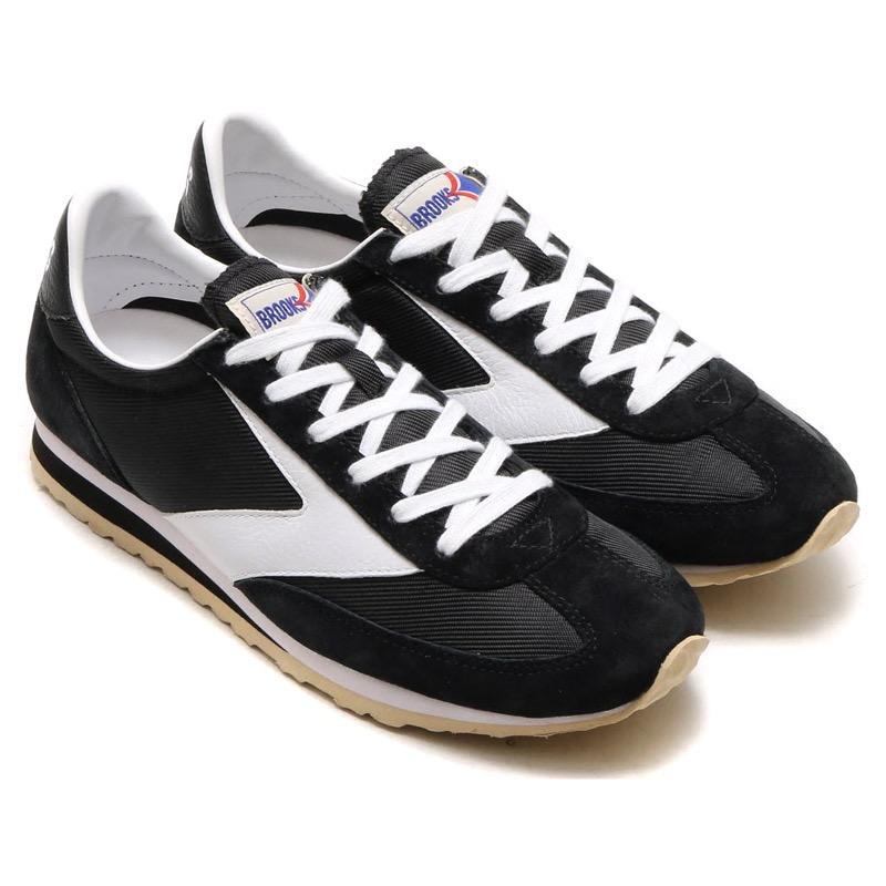 BROOKS VANGUARD(ブルックス ヴァンガード)BLACK/WHITE【メンズ レディース スニーカー】17SP-I