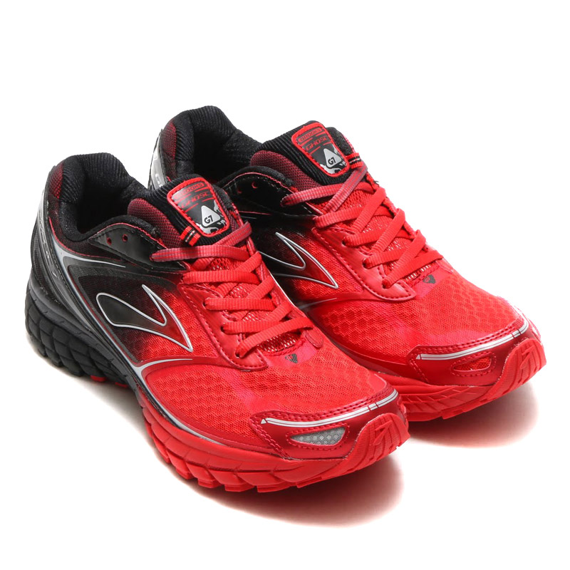 BROOKS MEN OMBRE GHOST 7(ブルックス メンズ ゴースト7)HIGH RISK RED/BLACK/SILVER【メンズ スニーカー】